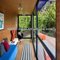 B.R.D modern prefabricated modified shipping container houses