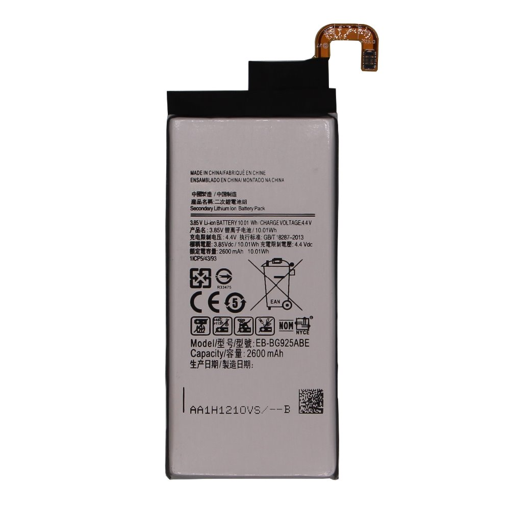 Original New Replacement Battery EB-BG925ABE For Samsung GALAXY S6edge 2600mAh