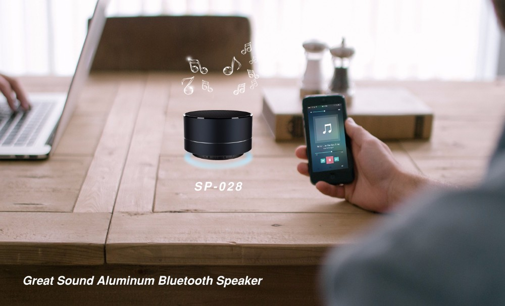 wireless aluminum bluetooth speaker
