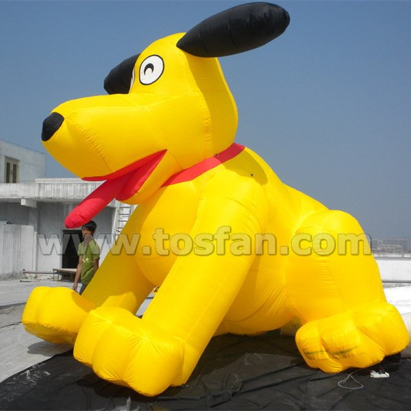 Giant promotion inflatable dog F1018