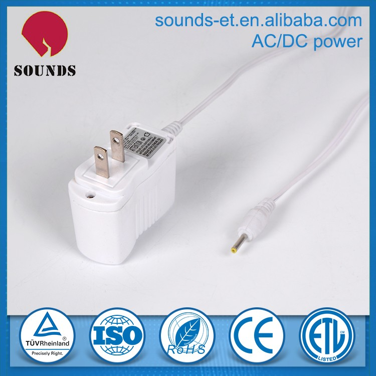 220v ac dc 5v 1a power adapter customized switching power adapter with CE UL PSE BS SAA certificate
