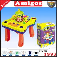 educational toy selling Learning desk with light,music projection learning table