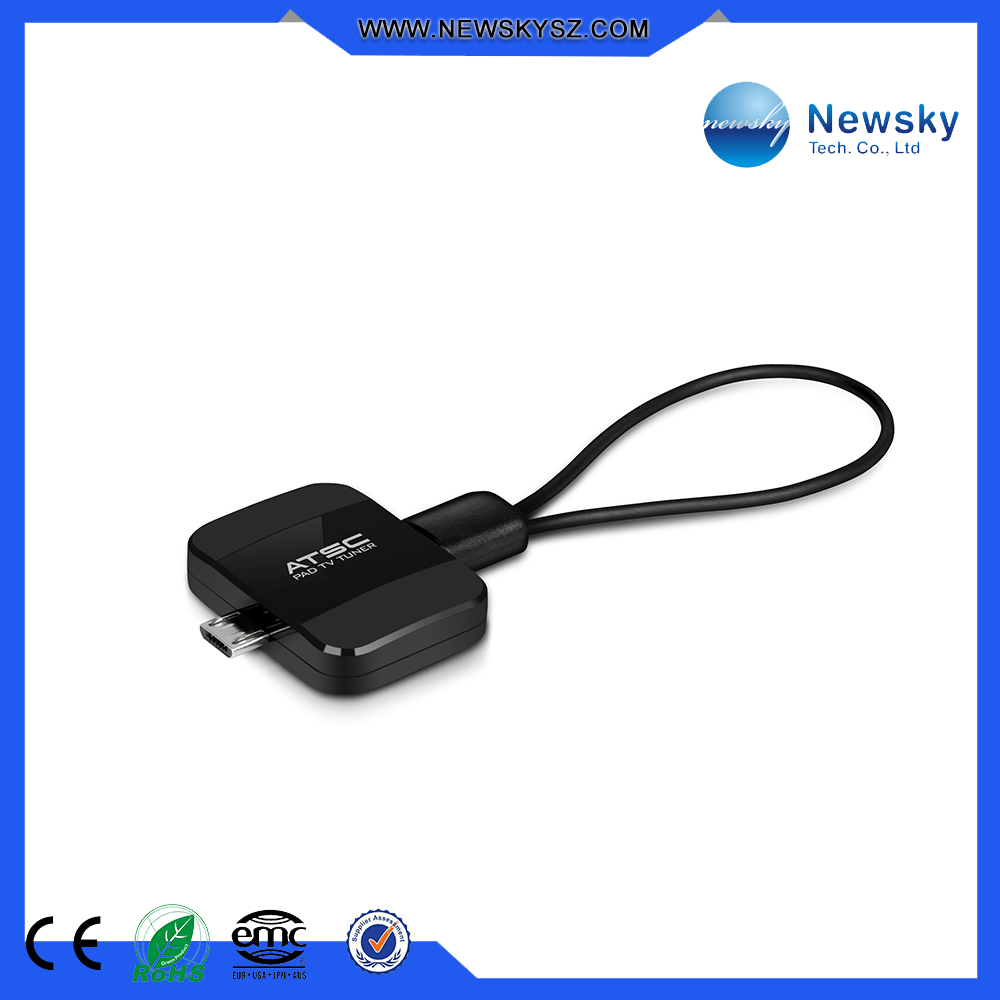 High quality Mpeg4 H.264 micro usb Android ATSC TV tuner for the tablet