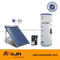 high quality split pressurized heat pipe solar water heater