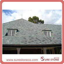 Natural Green Slate Roof Tiles, Natural Green Roofing Slate