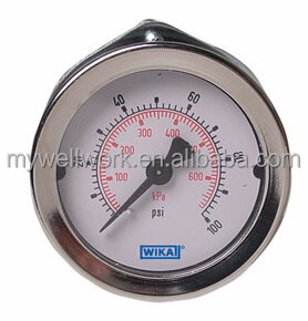 Bourdon Tube Pressure Gauge Type 111.16 Bourdon Tube Pressure Gauge Type 111.16 Panel Mount Gauge