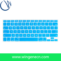 Custom Laptop skin waterproof keyboard cover glow in the dark keyboard cover custom silicone keyboard cover