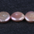 12-14mm purple color coin freshwater natural pearl beads for jewellery making