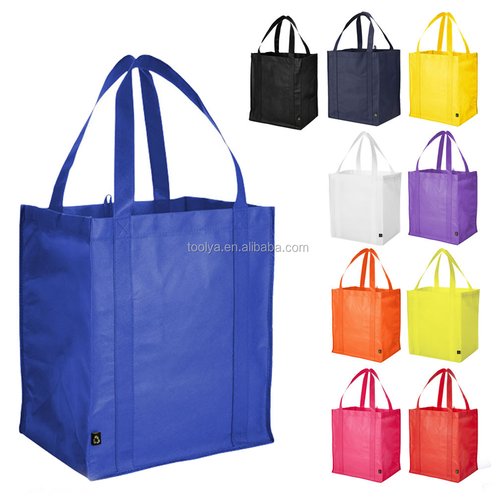 Promotional OEM ECO friendly Laminated PP Non Woven shopping Bag