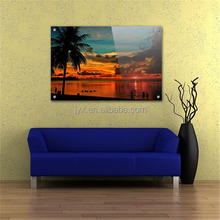 Wall mount decorative pop art acrylic painting with Shenzhen wholesale price