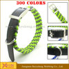 dog pet neck collar with metal buckle wholesale