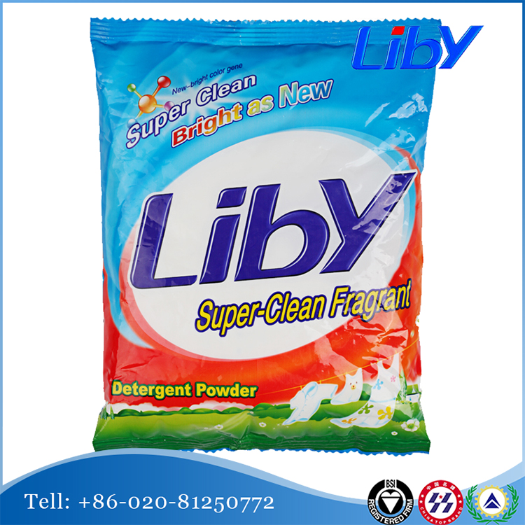 LIBY detergent manufacturer wholesale clothes washing powder