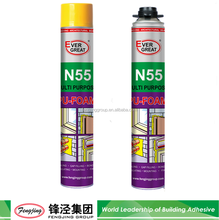 Aerosol products foam polyurethane with gun