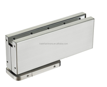 Concealed glass door hydraulic floor spring hinge