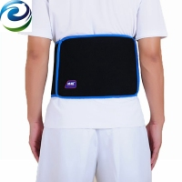 Helps relieve lower back pain gel ice pack back brace