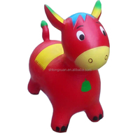 Inflatable Jumping Animal Plastic Toy