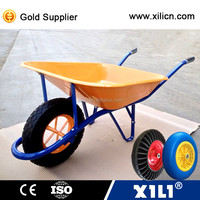 China steel wheelbarrow cheap wheelbarrow WB6400 for sale