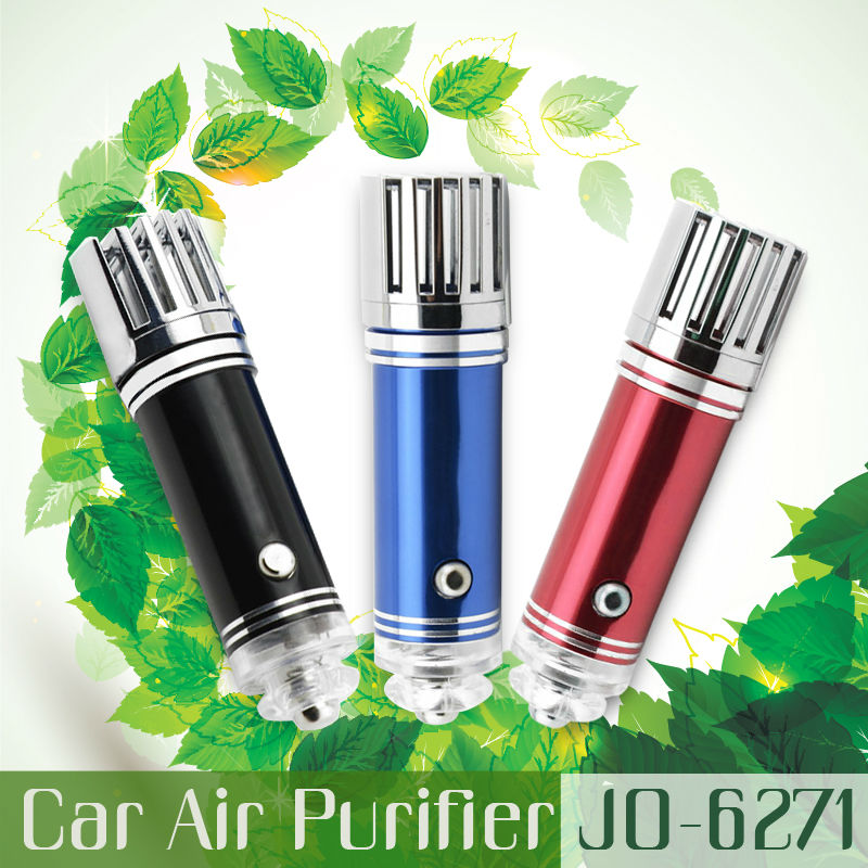 Electronic Hot New Products 2014 ( Mini Car Air Purifier JO-6271 with 3,800,000pcs/cm3 Negative Ion)