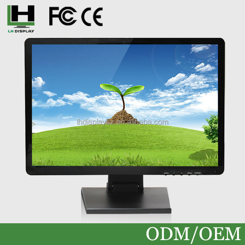 Plastic Housing 17 Inch 1280*1024 Infrared Touch Screen Monitor