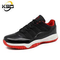 NEW high quality rubber sole light sport low-top men's basketball shoes