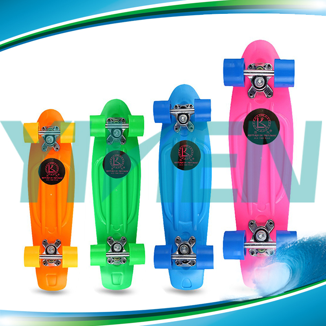 Mini Cruiser Longboard Retro Plastic Complete Adult Skateboard For Cheap Sale