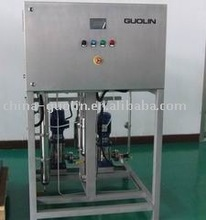 High-concentration ozone dissolved water machine
