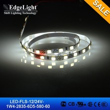 Edgelight flexible led strip light smd2835 high brightness wireless led strip light