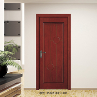Cheap bedroom door designs veneer finished wooden door
