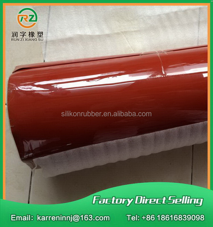 Good feature household silicone vulcanized thin rubber sheet