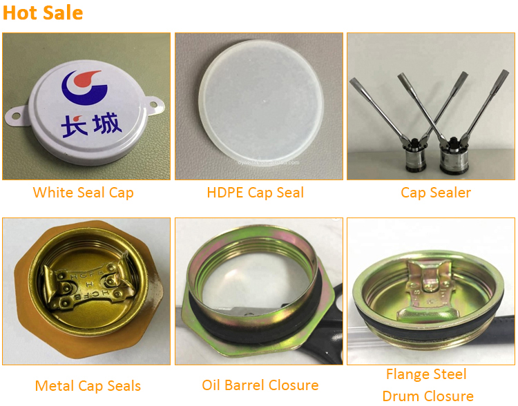 55 Gallon Steel Drum Cap Seals Metal Cap Seals