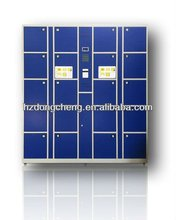 Electronic uniform lockers