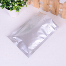 aluminum foil polythene bag with frosted window