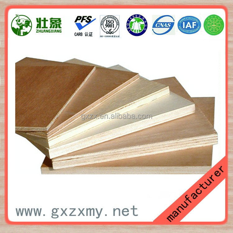Professional 8mm melamine faced waterproof plywood with low price