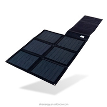 Hanergy CIGS 48w portable and foldable solar charger for laptops