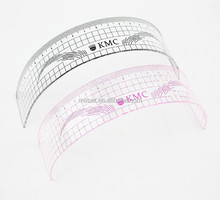 2015 New Eyebrow Tattoo Shaping Stencil Brow Ruler,Permanent Makeup Stencils 11cm Plastic Eyebrow Ruler