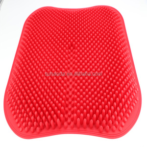 silicone car seat mat chair cushion waterproof non-slip breathable silicone car seat pad