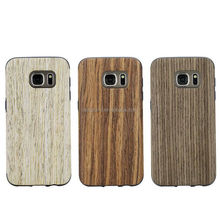 Natural Wooden Wood Bamboo Phone Case For Samsung Galaxy S7/ S7 edge