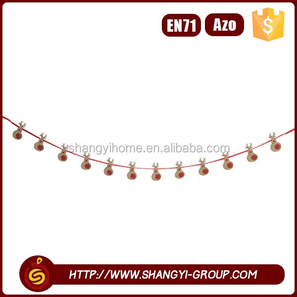 Wholesale lovely hanging garland christmas school decoration ideas