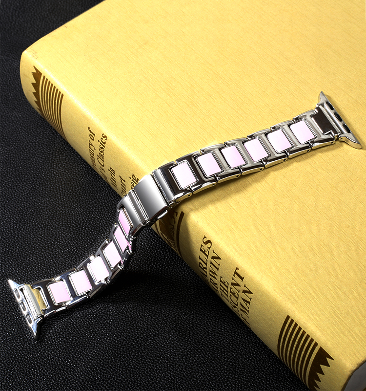 38mm 40mm 42mm 44mm Stainless Steel Links Bracelet Watchbands Strap For Apple Watch