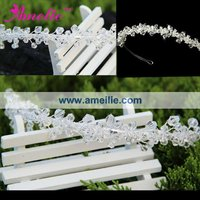 Wholesale pageant crowns and tiaras wedding sale