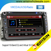 "Erisin ES8015V 8"" auto radio car dvd player GPS Navigation System for VW PASSAT CC TIGUAN Sharan"