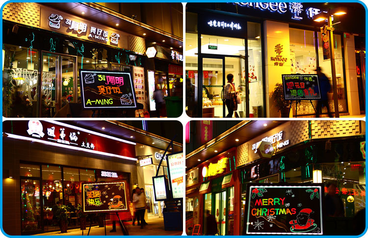 Most popular best selling products in america Alibaba hot flourescent flashing led light sign