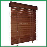 50mm wood venetian blind curtain and modern office wooden shutter for home office hotel church black out window blinds