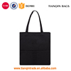 Recommended Classical Canvas Casual Simple Daily Black Weekend Outdoor Tote Handbag