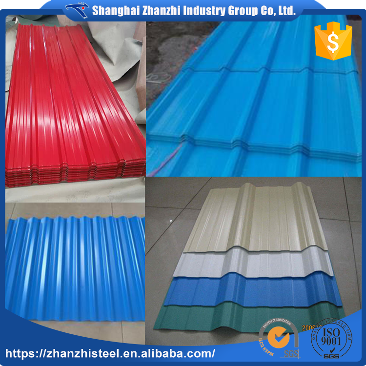 2017 New China Supplier Color Coating Residential Roofing Materials