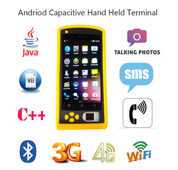 5 inch Screen 3G Android GPS Biometric Time Attendance HF-FP05