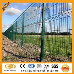 Anping HAIAO galvanized & powder coated garden weld wire mesh fencing