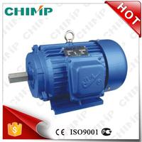 Y series 6pole 0.75KW ac induction cast iron three phase asychronoous electric motor