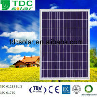 High quality and Competitive price Chinese Polycrystalline 190w solar panel in stock with TUV/CE