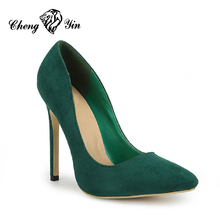 New women fashion stiletto shoes autumn high heels for office lady formal dress